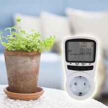 Big discount Digital wattmet Power Meter Energy Meter Measuring Outlet Socket Current Wattmeter Power Analyzer medidor energia electrica 4Typ
