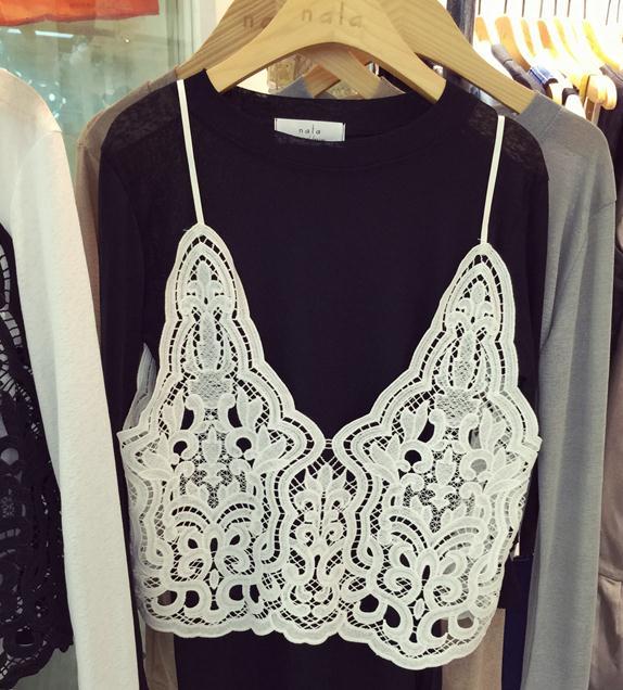 Hot Sale 2017 Summer Sexy Deep V Neck Halter Crochet Top Sleeveless Women Lace Crochet Crop Top Hollow Lace Camisole Vest AW474