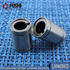 LM40MG Linear Ball Bearings 40x60x80mm 1 PC Stainless Steel Resin Retainer Linear Bushing LMS40UU Shaft 40MM