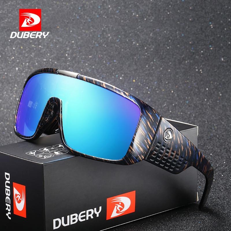 DUBERY Dragon Sunglasses Men's Retro Male Goggle Sun Glasses For Men 2018 Fashion Brand Luxury Mirror Shades Oversized Oculos