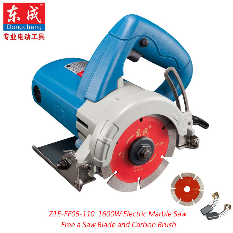 1600W Marble Cutter 110mm Tile Saw Electric Marble Saw Electric Circular Saw 0 45 Cutting Free