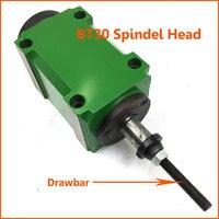 2HP 1.5KW BT30 фрезерные шпинделя конус 7:24 Мощность головное устройство высокое Скорость 3000 об./мин. для фрезерный станок с сцепное устройство