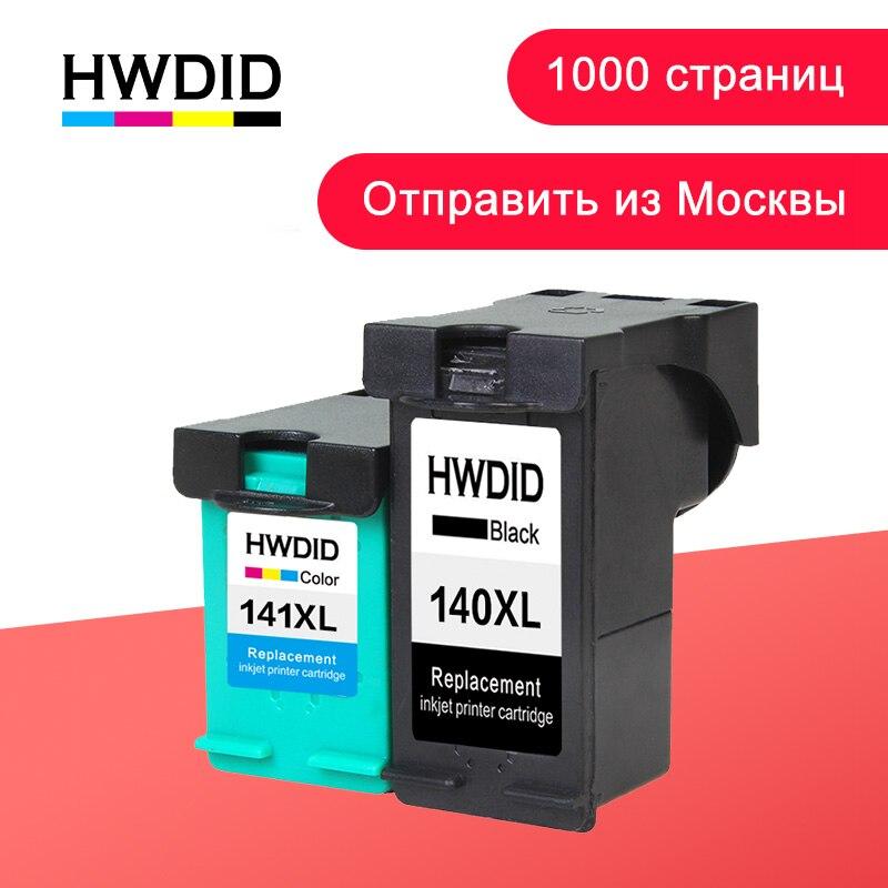 HWDID 140XL 141XL llenar cartucho de tinta HP 140 de 141 para Photosmart C4283 C4583 C4483 C5283 D5363 Deskjet serie D4263