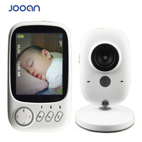 3.2 inch Wireless Baby Monitor Video Color Baby Nanny Security Camera Night Vision Temperature Music LCD Monitor Baby Cam