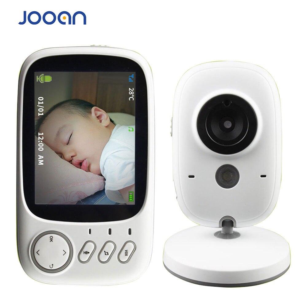 3.2 pouces sans fil bébé moniteur vidéo couleur bébé nounou caméra de sécurité Vision nocturne température musique LCD moniteur bébé Cam