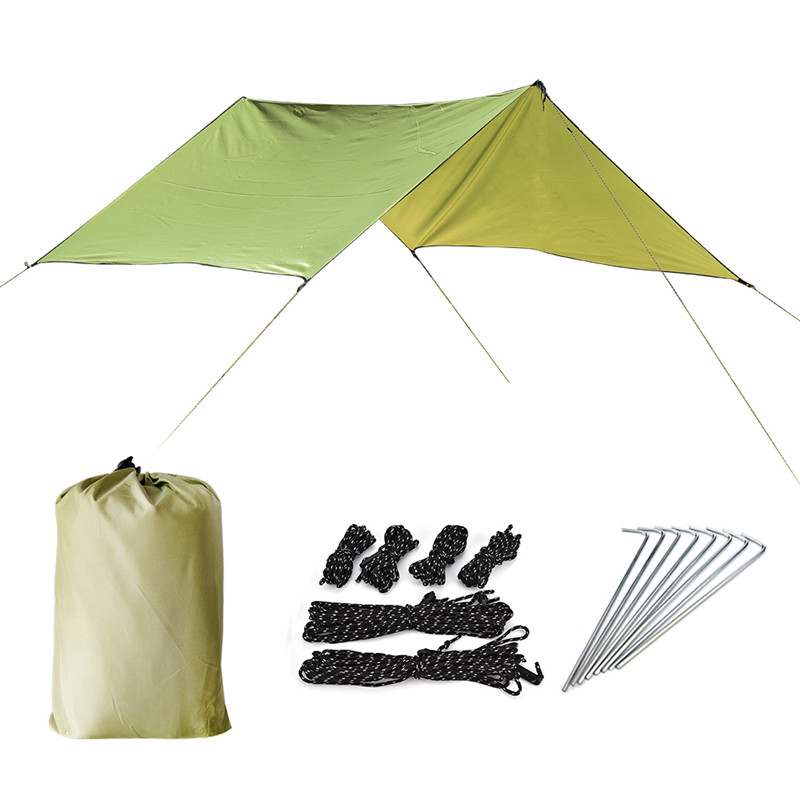 Outdoor Ultralight Waterproof Camping Beach Sunshade Tent Tarp Mat For Picnics Hiking Camping Ground Sheet