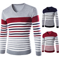 2016 new winter Hot Sale sets men sweater v-neck knitting a sweater