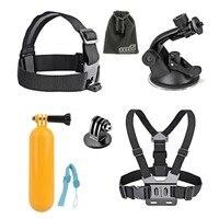 6 In 1 Sports Camera Accessories Set For Go Pro Hero 4 3 3 2 Sjcam
