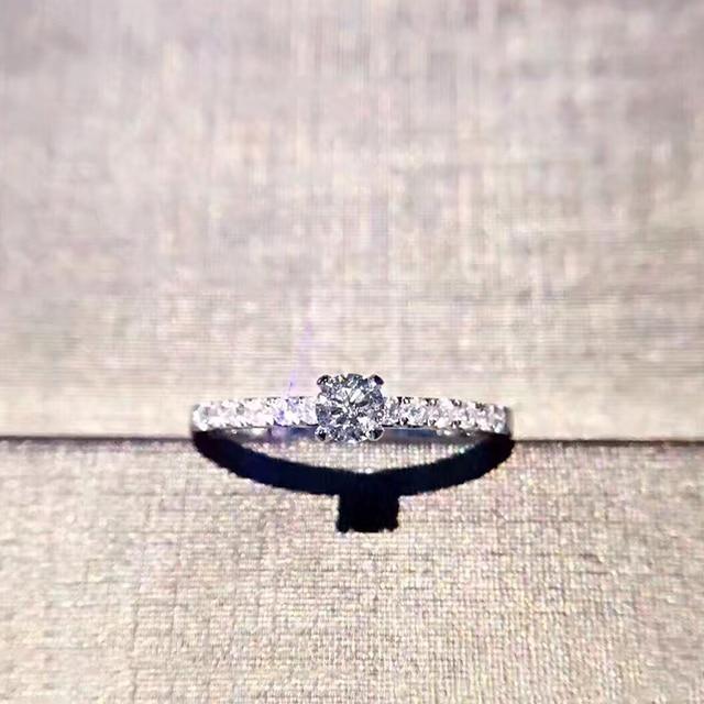 59f8cc84744 ANI 18K Rose Gold (AU750) Women Wedding Ring Certified I SI 0.315 ct Real Diamond  Elegant Classic Fine Engagement Jewelry Custom