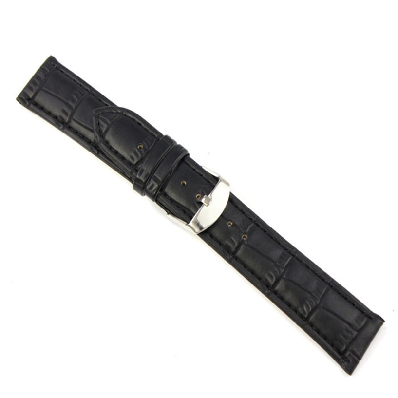 Wristband-watch-2018-good-Quality-Soft-Sweatband-Watchband-Buckle-18-20-22-Faux-Leather-Band-Steel (1)