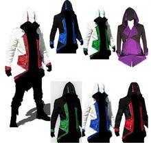 Assassins Creed 3 III Conner Kenway-mantel-jacken Plus Größe Anime CosplayAssassin der Kostüm Cosplay Mantel