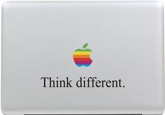 Ретро Радуга Логотип Текстовые Слова Наклейка для Apple Macbook Air 11 12 13 Pro 13 15 17 Retina Этикеты Винила Ноутбука Multi скины