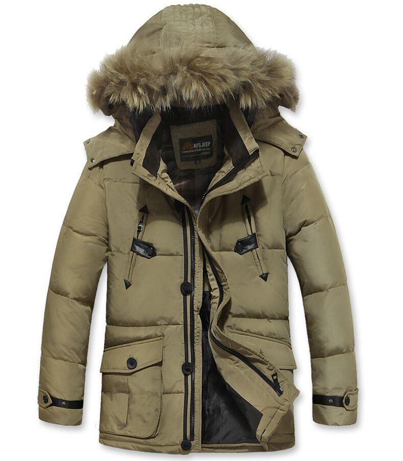 Aliexpress Top Brand Down Jacket Men 80 White Duck