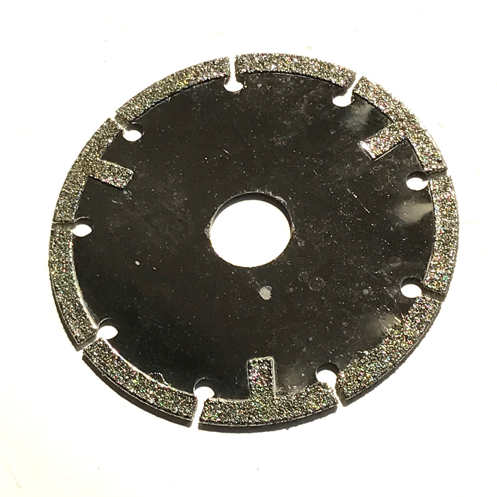 Free Shipping Of 1PC 100*20*1.2*5mm Diamond Coating Cutting Disc Saw Blade For Pottery/porcelain Ceramics/tile/glass Wet Cutting