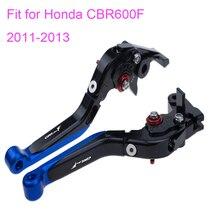 цена на KODASKIN Folding Extendable Brake Clutch Levers for Honda CBR600F 2011-2013