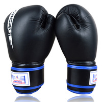 KANGRUI Brand MMA Boxing Gloves Genuine Leather MMA Half Fighting Boxing Gloves Competition Training Gloves Sand