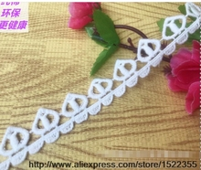 DIY clothing accessories cotton water soluble embroidery lace width 2 cm 127883