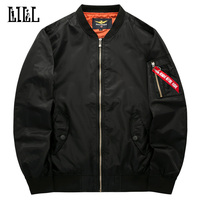 M 6XL Air Force One Waterproof Bomber Jacket Pockets Men S Spring Military Style Coat Men