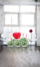 New Arrival Background Fundo Rose Heart Stool Width Backgrounds Lk 3810 Valentine'S Day