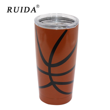 RUIDA 20oz/590 ml Stainless steel vacuum insulation pot car cup coffee cup baseball cup ST002