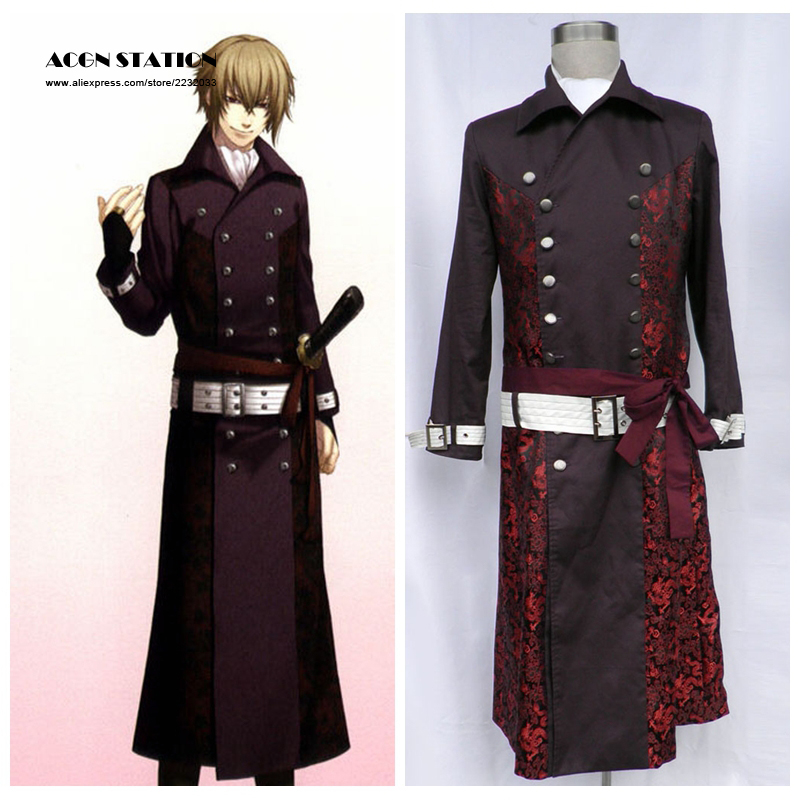 2017 Free Shipping Hakuouki Anime Costume Kazama Chikage Halloween Cosplay  Costume Customize for plus size adults and kids-in Anime Costumes from  Novelty ...