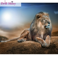 Leopard DIY Diamond Painting Full Resin Mosaic Embroidery Square Rhinestone Paintings Animal 3D Cross Stitch Kits