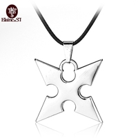 Fashion Unisex Hot Game Kingdom Hearts Animation Metal Pendant Necklace Roxas dart Pendant Cosplay Accessories Jewelry Best Gift
