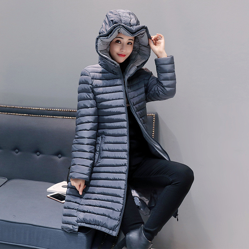 New High Quality Winter Jacket Women Hooded Coat Fashion Female Outerwear Parka Cotton Padded Brief Slim Jacket Parkas TT2950 2017 new winter fashion cotton coat female slim warm hooded parkas female overcoat high quality women cotton padded long jacket