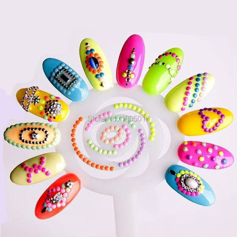 The cheapest 5 set/lot Sun flower type Nail plate Color wheel ...