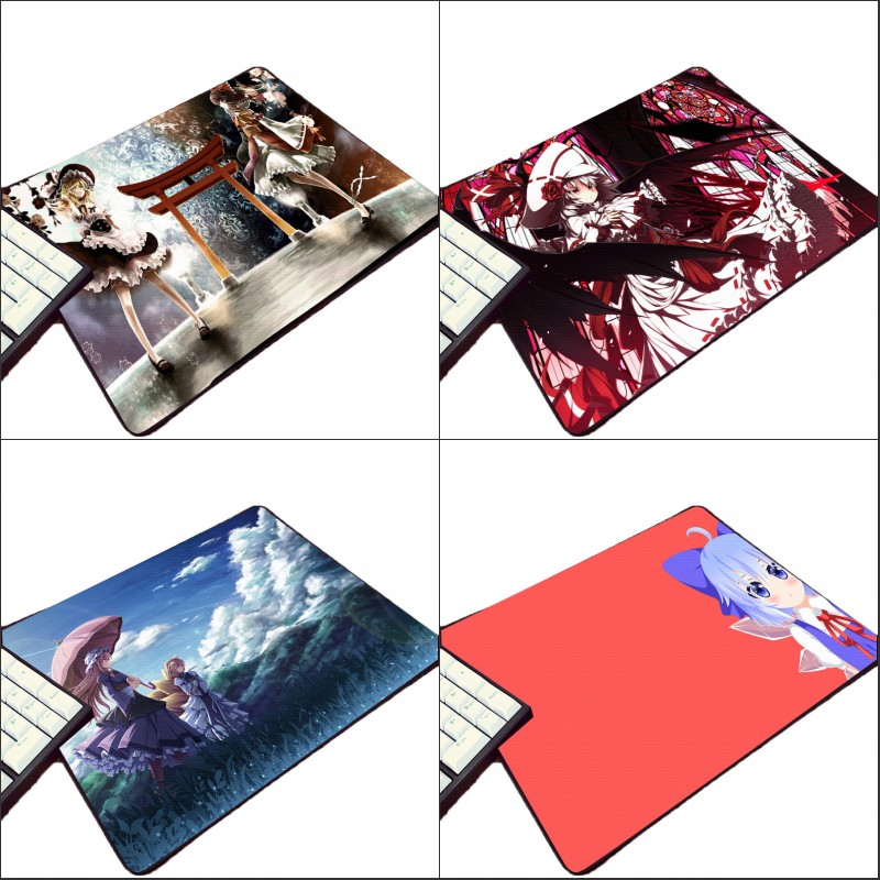 Mairuige Beautiful Wallpaper Touhou Project Cute Girls Shoujo Computer Rubber Mousepad Small Size Animation Game Play Mouse Mat In Pads From