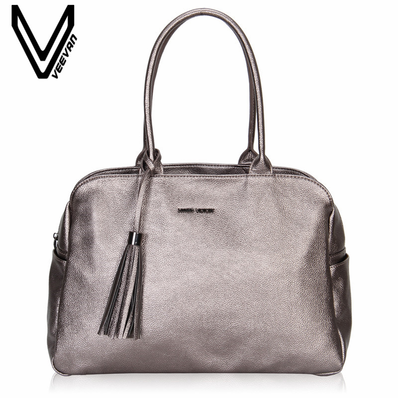 VEEVAN Fashion Designer High Quality Leather Women Handbag Office Lady Tote Handbags Shoulder Bags Female Messenger Bags Vintage veevanv women handbags office lady tote handbag fashion tassels messenger bags ladies leather shoulder bags female crossbody bag