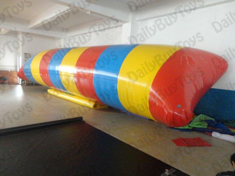 WT24 Lowest Price & 0.9mm PVC Tarpaulin 12m*2m inflatable water blob/water pillow + Repair Kits  DHL Free Shipping