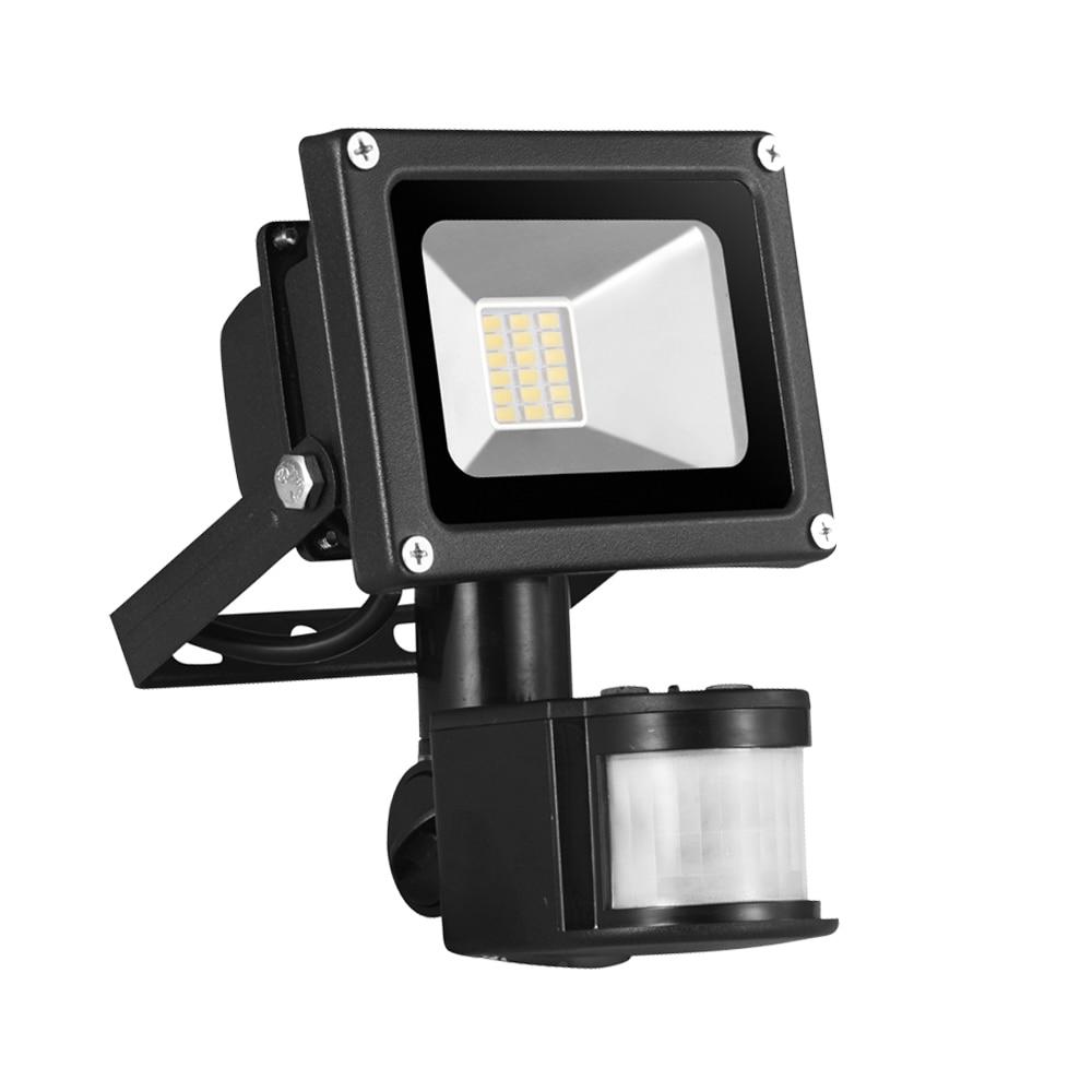 2 PCS Kaigelin Motion Sensor Flood Light 20W 1400LM SMD 5630 LED-lampa Utomhusbelysning 85V-265V Vattentät Induktions Floodlight