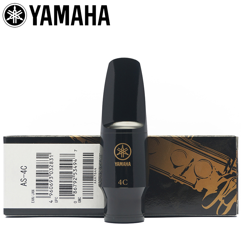Original YAMAHA Hard Rubber Mouthpiece Soprano Alto Tenor Saxophone Clarinet Mouthpiece
