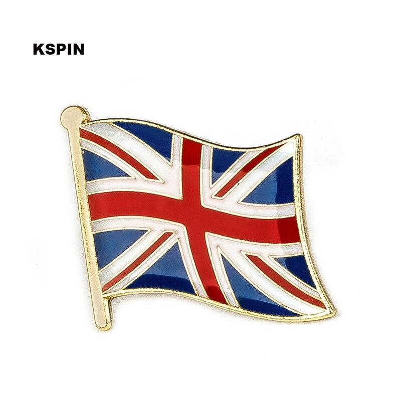 Bandera del Reino Unido pin de solapa pin 300 piezas mucho broche iconos KS 0210-in Identificaciones from Hogar y Mascotas    1