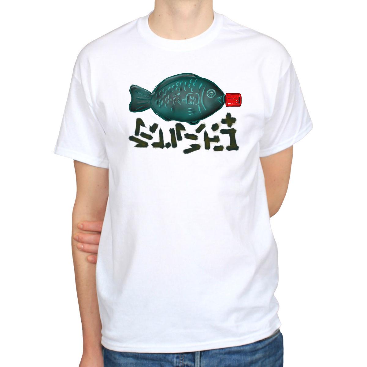 T shirt japanese design - Soy Sauce Fish Sushi Japanese Street Art Hipster Japan Design Mens T Shirt Tee Brand Cotton Men Clothing Male Slim Fit T Shirt
