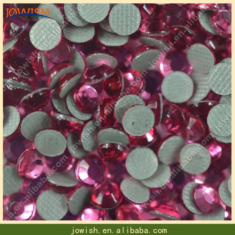 SS6 Роза теплопередачи корейские стразы 1000 брутто/мешок, без свинца исправление плоский камень chaton для одежды платье nailart драгоценность