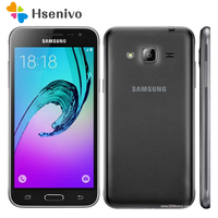 100% Unlocked Original Samsung Galaxy J3 J320F Cell Phone Ouad Core Dual Sim 2GB RAM 5.0 Inch Touch Screen free shipping