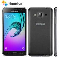 100% Unlocked Original Samsung Galaxy J3 J320F Cell Phone Ouad Core Dual Sim 2GB RAM 5.0 Inch Touch Screen free shipping