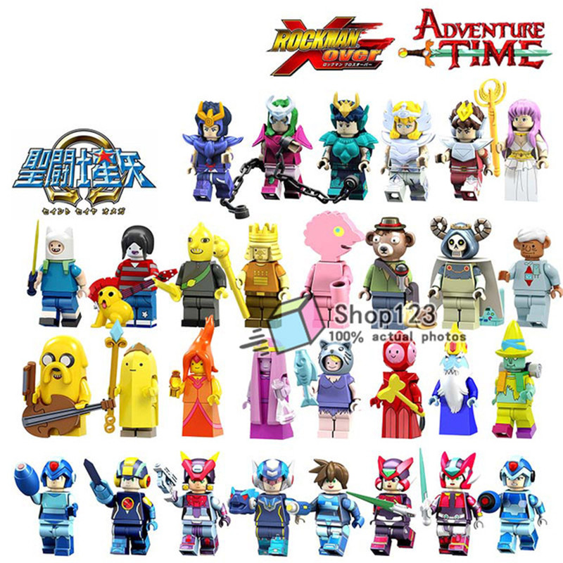 Mega Blocks Toys Seiya Athena Saint Adventure Time-Marceline Flame Princess Friends