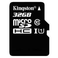 Kingston Digital 16GB MicroSDXC Class 10 UHS I 80MB S Read Card SDC10G2 16GB
