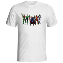 DC Comic Justice League short sleeve Tshirt