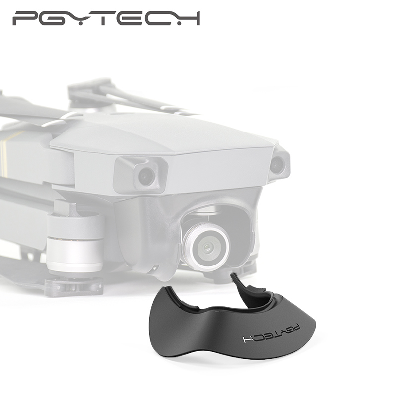 Mavic PGYTECH Pro Gimbal Camera Capa de Protecção solar Sol Capa Capa para DJI Mavic Pro Lente Capô Sol Protetor Acessórios
