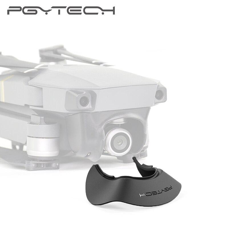 PGYTECH Mavic Pro Gimbal Cámara cubierta sombrilla Sun Hood para DJI Mavic Pro Lens Sun Hood Protector Accesorios