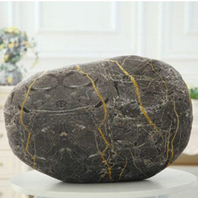 3D камень, декоративные подушки мягкие Подушки Сиденья мило emoji подушка cojines coussin лучший подарок на день рождения