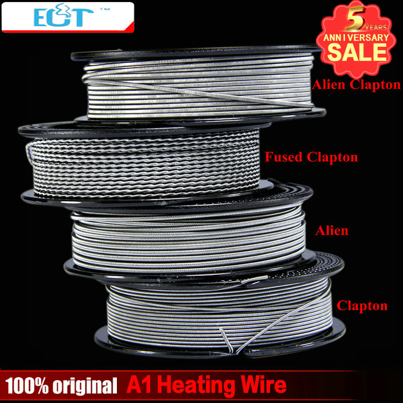 ECT 15 feet/roll A1 for RDA RBA Rebuildable Atomizer Coil Alien Heating Wire
