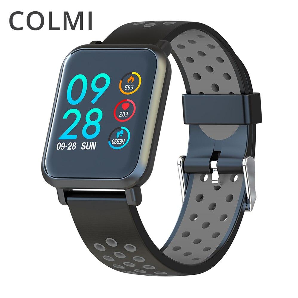 COLMI новые умные часы водостойкие Professional Activity Tracker Smartwatch пульсометр кровяное давление долгосрочный режим ожидания для мужчин