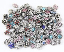 500pcs/lot free DHL 12mm small button new fation mix styles colors  snap jewelry interchangeable ginger snap button charm все цены
