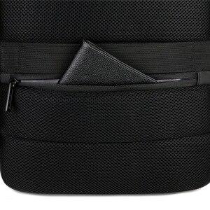 Image 5 - 2019 メンズビジネスノートパソコンのバックパック USB 充電男性 14 15 インチコンピュータバッグ防水 Bookbags トラベル Mochila