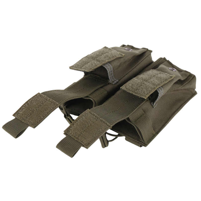 Ak Ar M4 Famas Mag Pouch Tactische Molle Triple Open Top Magazine Pouch Fast Airsoft Militaire Paintball Apparatuur
